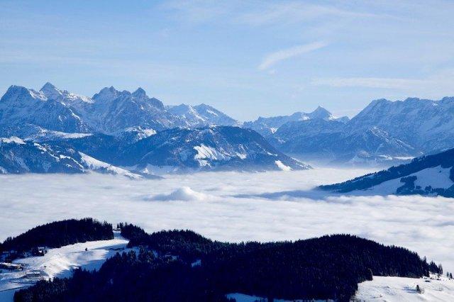 Montanhas de Kitzbuhel