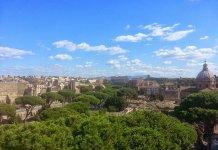 Vista panorâmica de Roma
