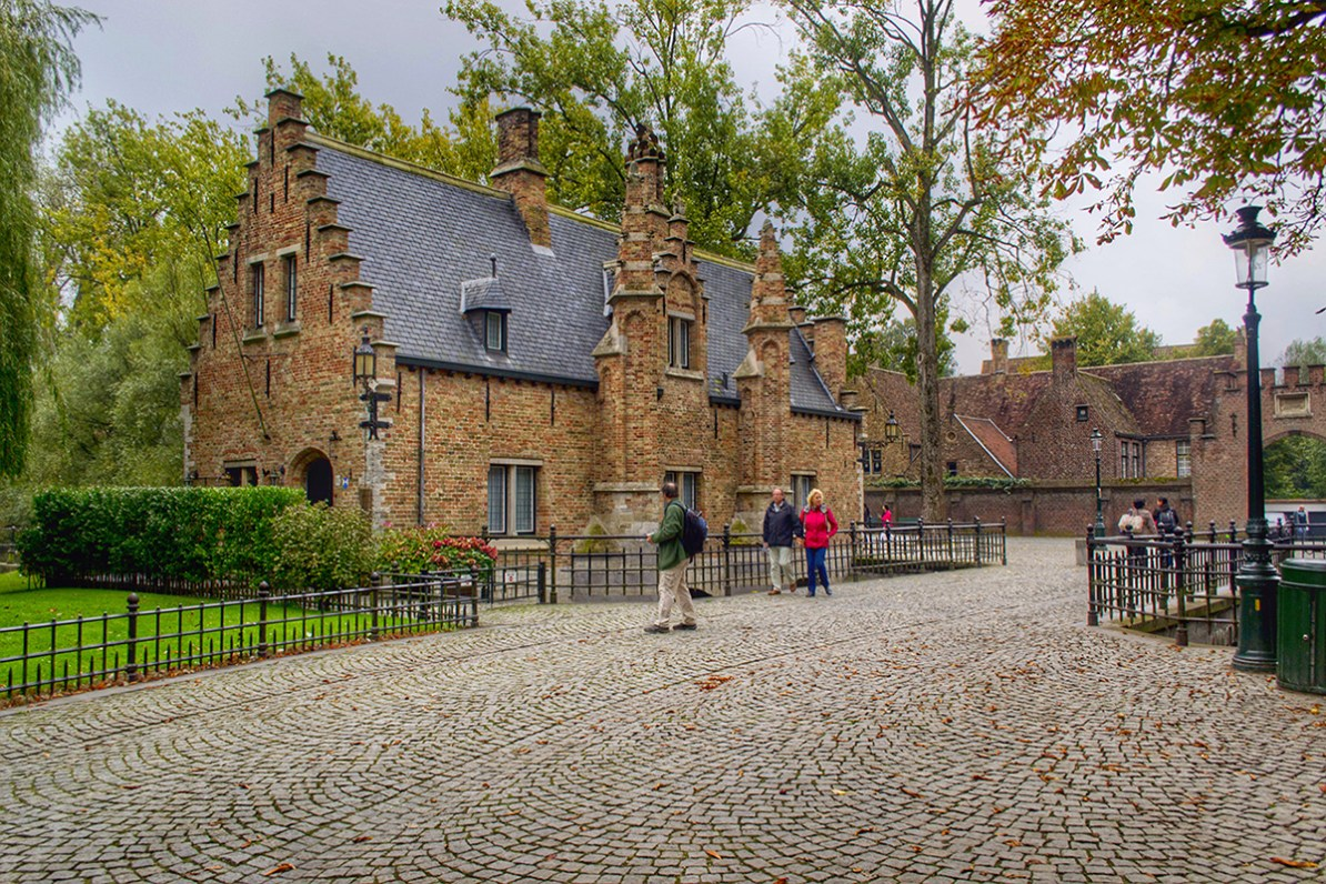 Minnewater Park - O que fazer em Bruges