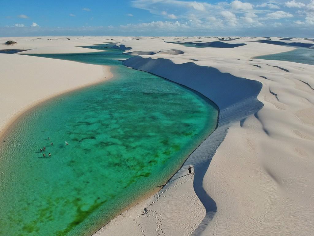 Melhores destinos no Brasil para relaxar - Lençóis Maranhenses
