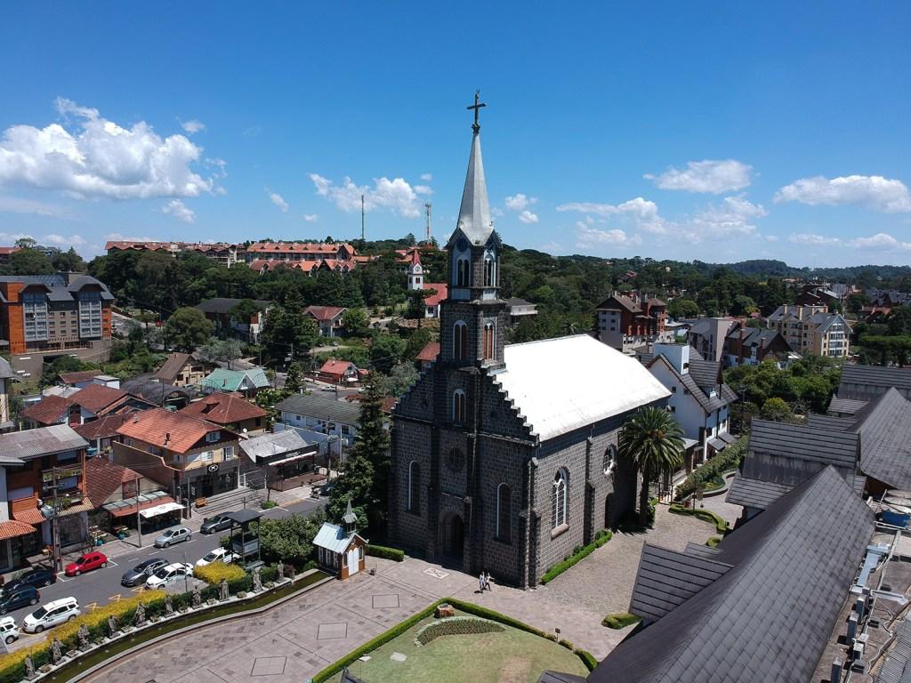 Passeios gratuitos em Gramado: Igreja Matriz