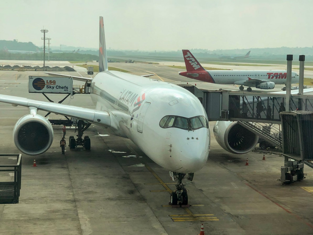 Airbus A350 da LATAM