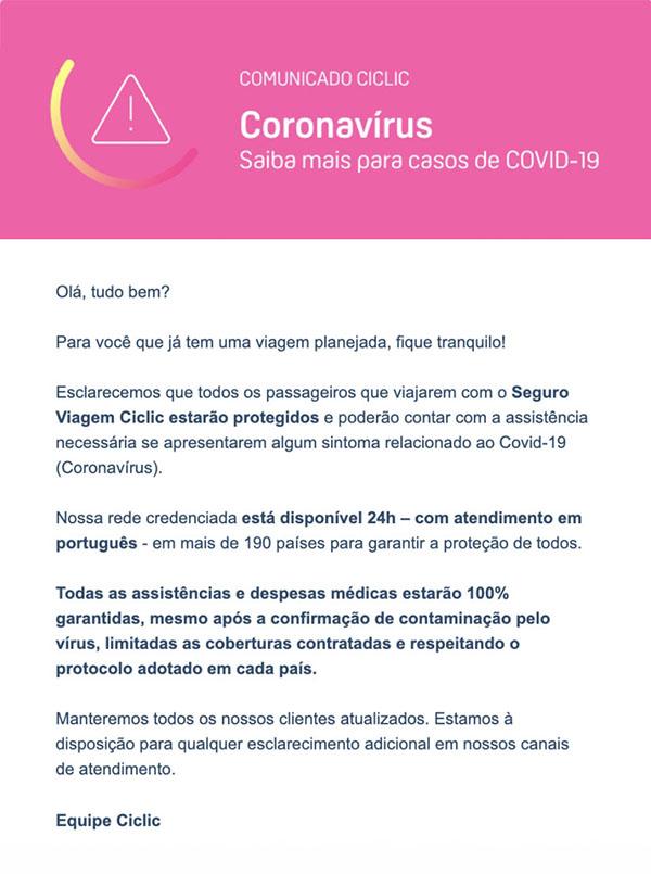 Ciclic - Coronavírus