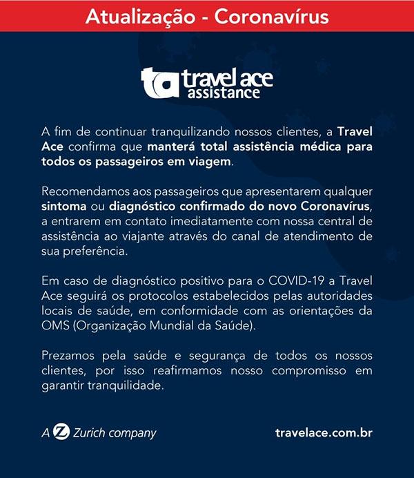 Travel Ace - Coronavírus e Seguro Viagem