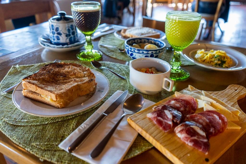 Café da Manhã no Parador