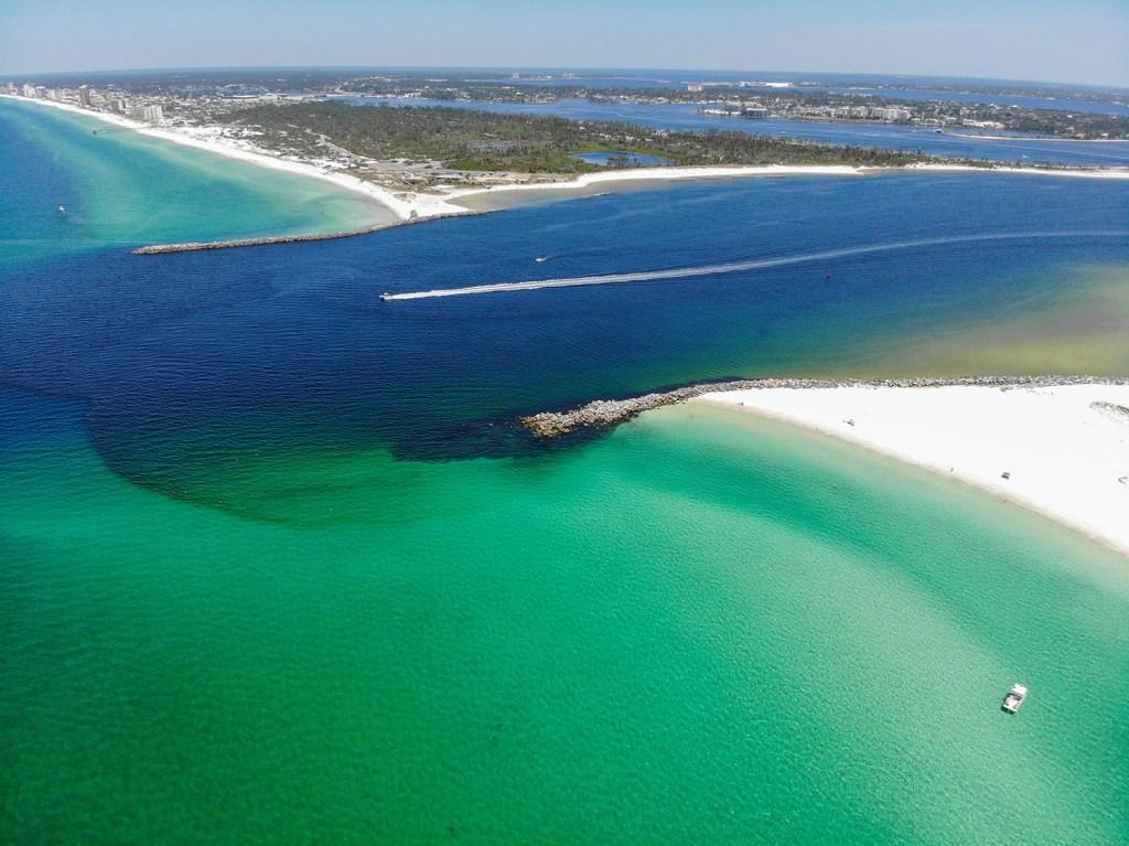 Shell Island vista de cima (Foto: Andy Spinelli)