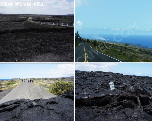 Chain of Craters Rd