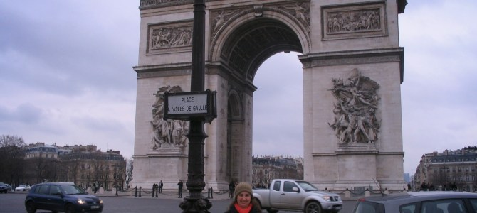 PARIS –  Arco do Triunfo (Arc de Triomphe)