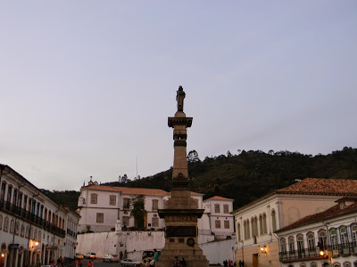 OURO PRETO – Praça Tiradentes