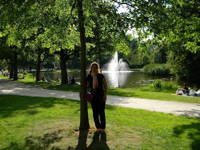 AMSTERDAM – Vondelpark, um lugar muito especial