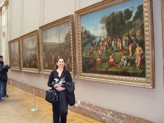 Grandes galerias com obras maravilhosas