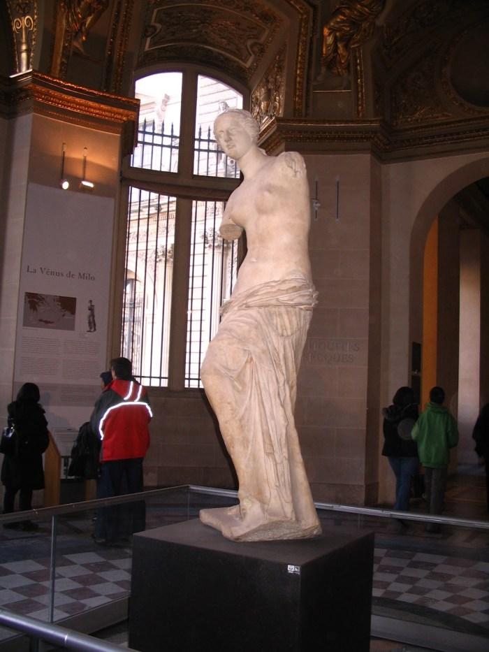 Descoberta em 1820 na ilha de Milo, na Grécia Antiga