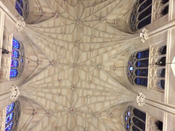 Teto da St. Patrick´s Cathedral