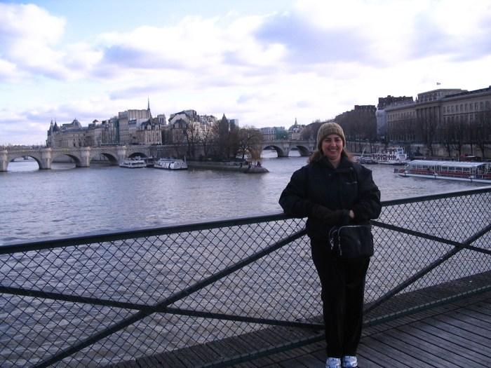 Pont des Arts ainda sem os cadeados