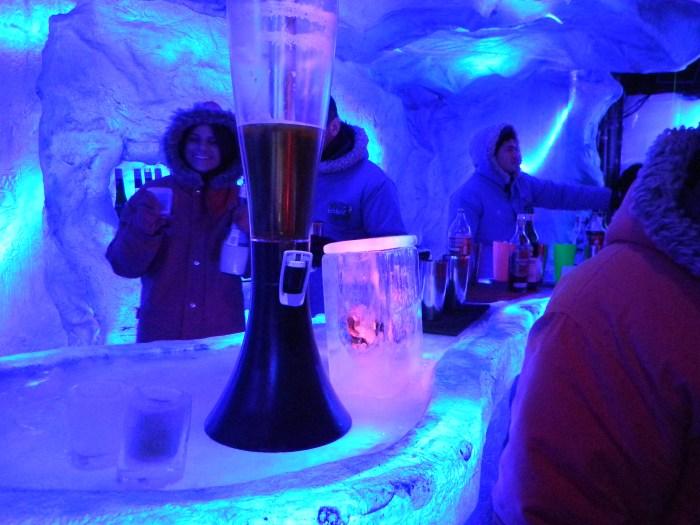 e a torre de cerveja argentina Isenbeck, deliciosa!