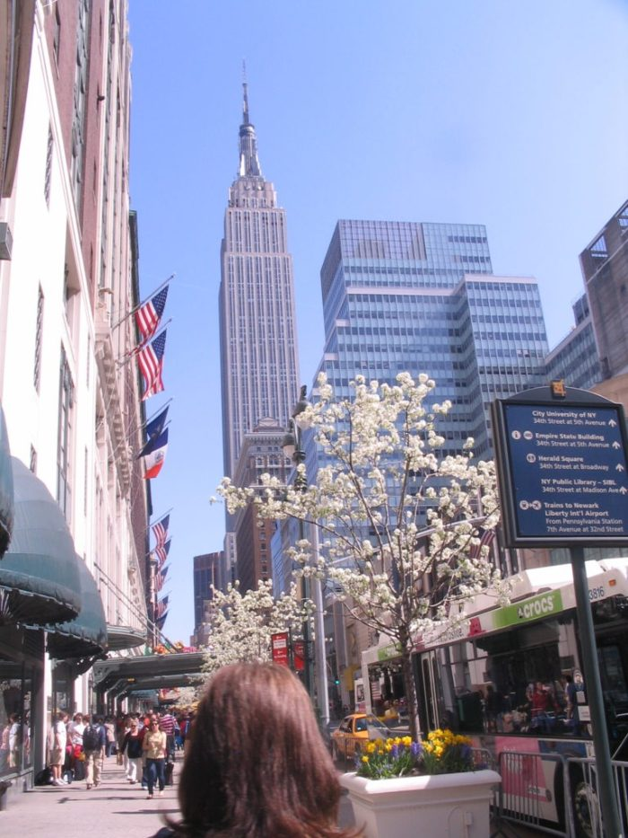 e próximo ao Empire State
