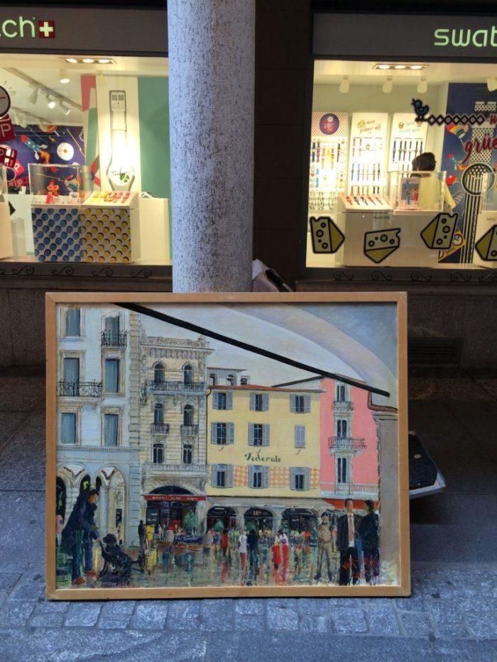 retratados em obras de artistas da cidade