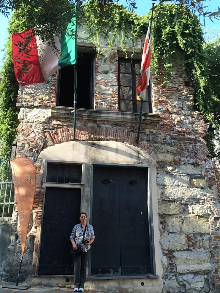 Bem vindos à Casa de Cristóvão Colombo, em Gênova