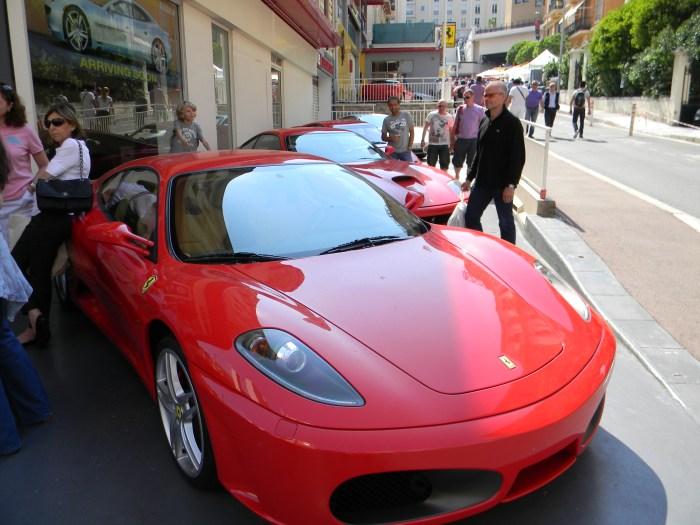 Ferraris expostas