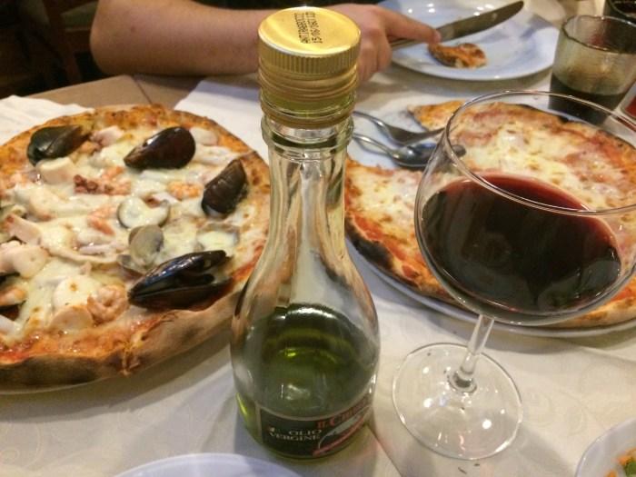 Momento da pizza milanesa