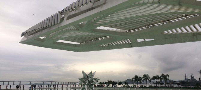 Museu do Amanhã , um belo presente ao Rio