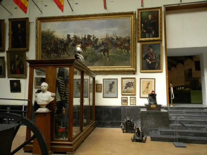 Os objetos contam a história militar da Bélgica