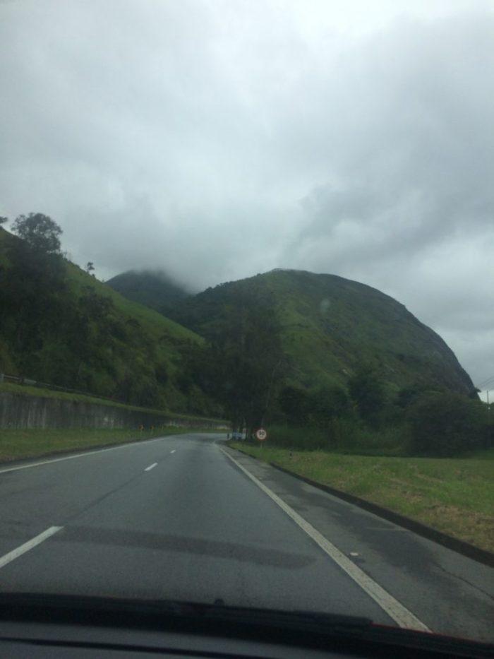 Chegando à Serra de Petrópolis