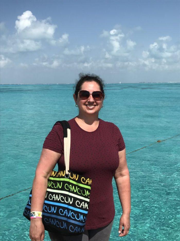 A felicidade da blogueira no México!