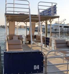 29 pontoon boat with slide [ 3456 x 2304 Pixel ]