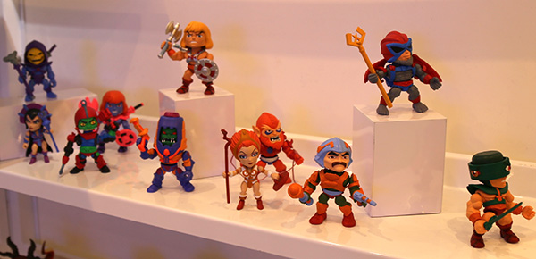 He-Man figures from the Loyal Subjects