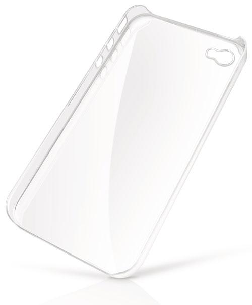 Coque rigide transparente pour iphone 4 4S APPLE