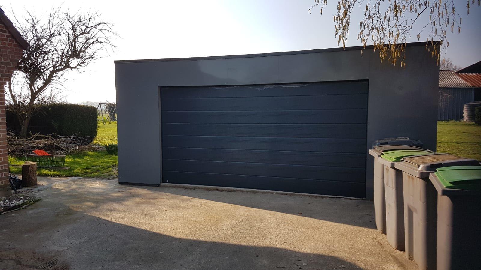 Garage En Aluminium 6 6 Destombes Bois