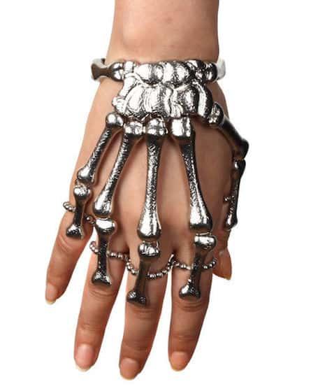 skeletonbonefingerbracelet