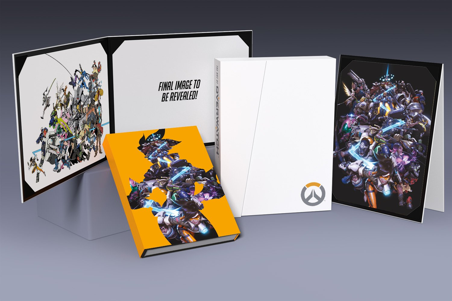 overwatch art book and