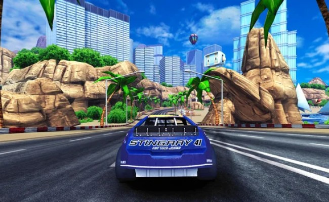 90s Arcade Racer Recreating Physics From The Ground Up