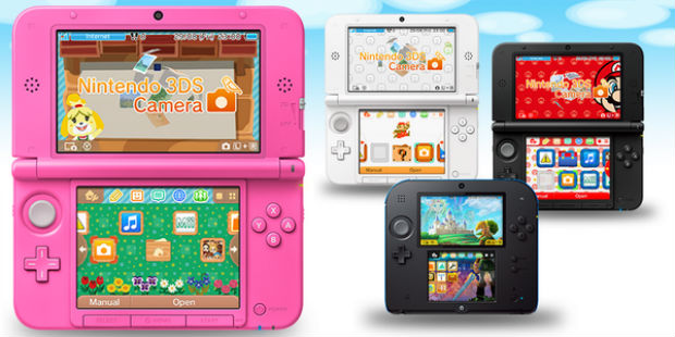 Nintendos Newest 3DS System Update Adds Themes