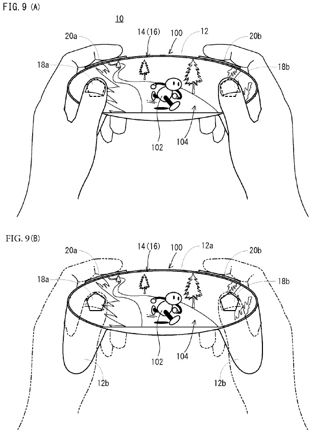 Nintendo files patent for what might be the NX's controller