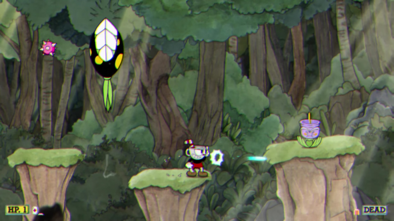 Cupheads Platforming Levels Are Brutal