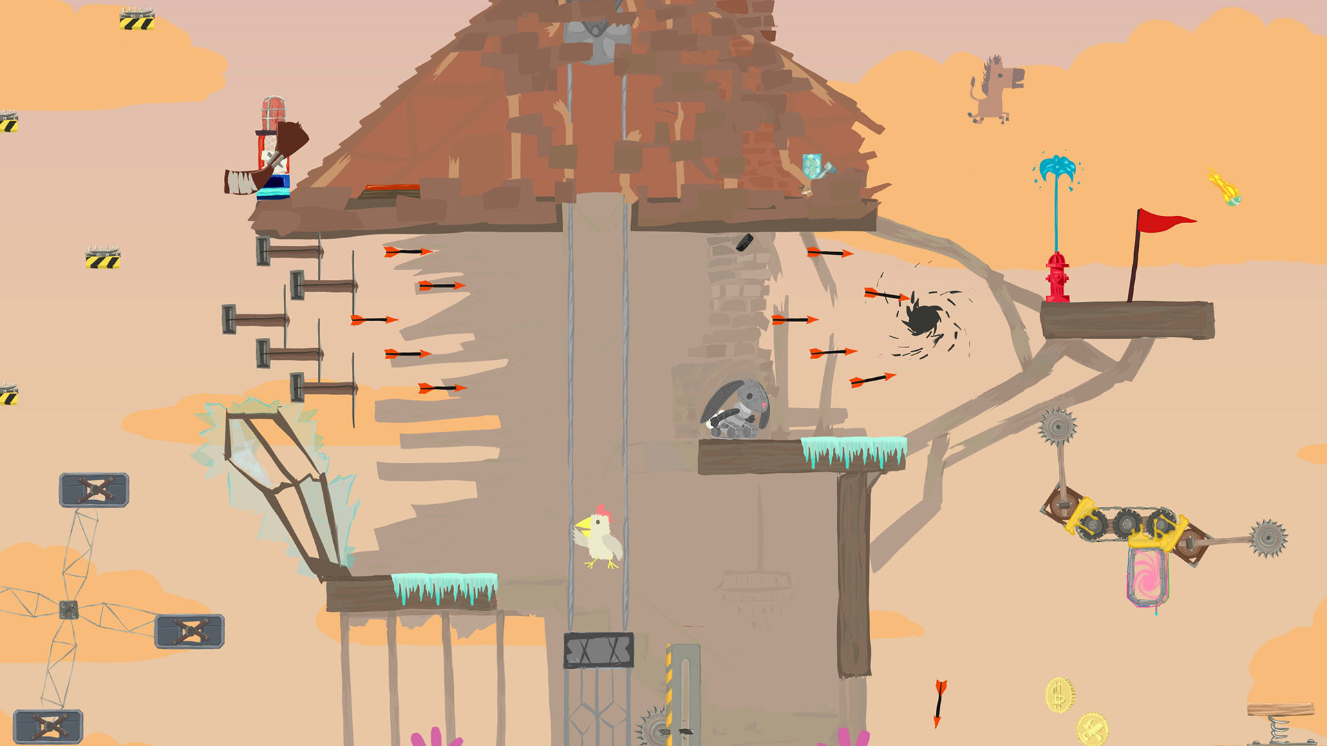 Ultimate Chicken Horse Is Bound For Switch PS4 And Xbox One