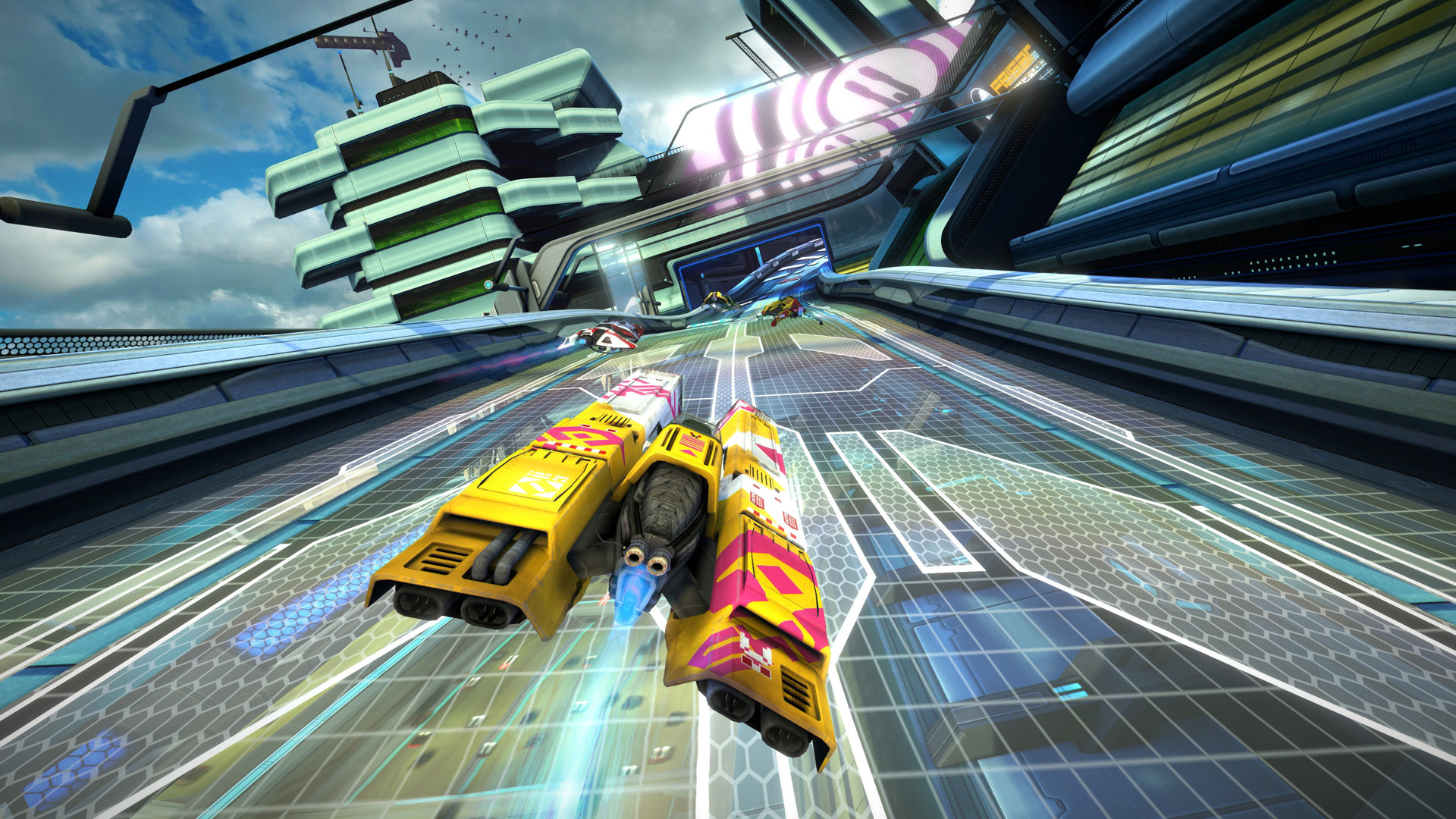 Review in Progress: WipEout Omega Collection