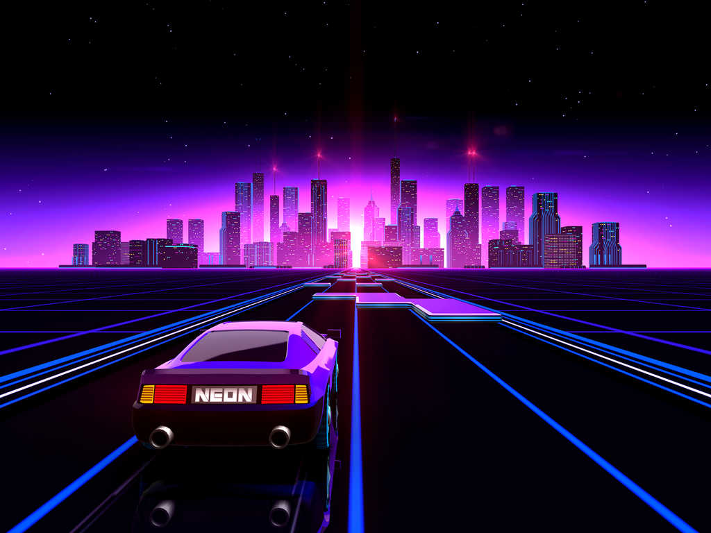 Pixel Car Racer Wallpaper Turbowave To The Max An Ode To 80 S Inspired Media