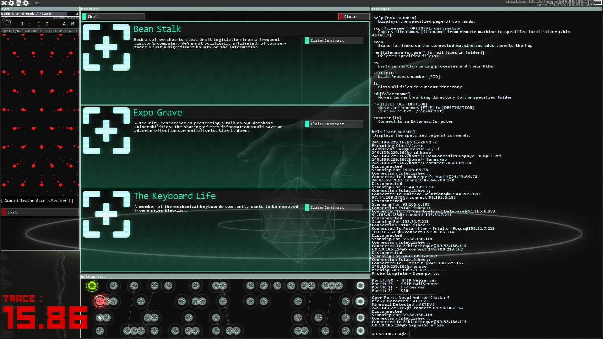 Hacknet is currently free on Steam until tomorrow