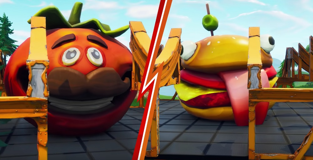 Who Will Be The Last Burger Standing In Fortnite Food Fight