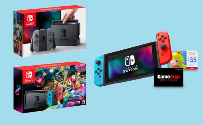 Best Nintendo Switch Cyber Monday Deal Is 85 Worth Of