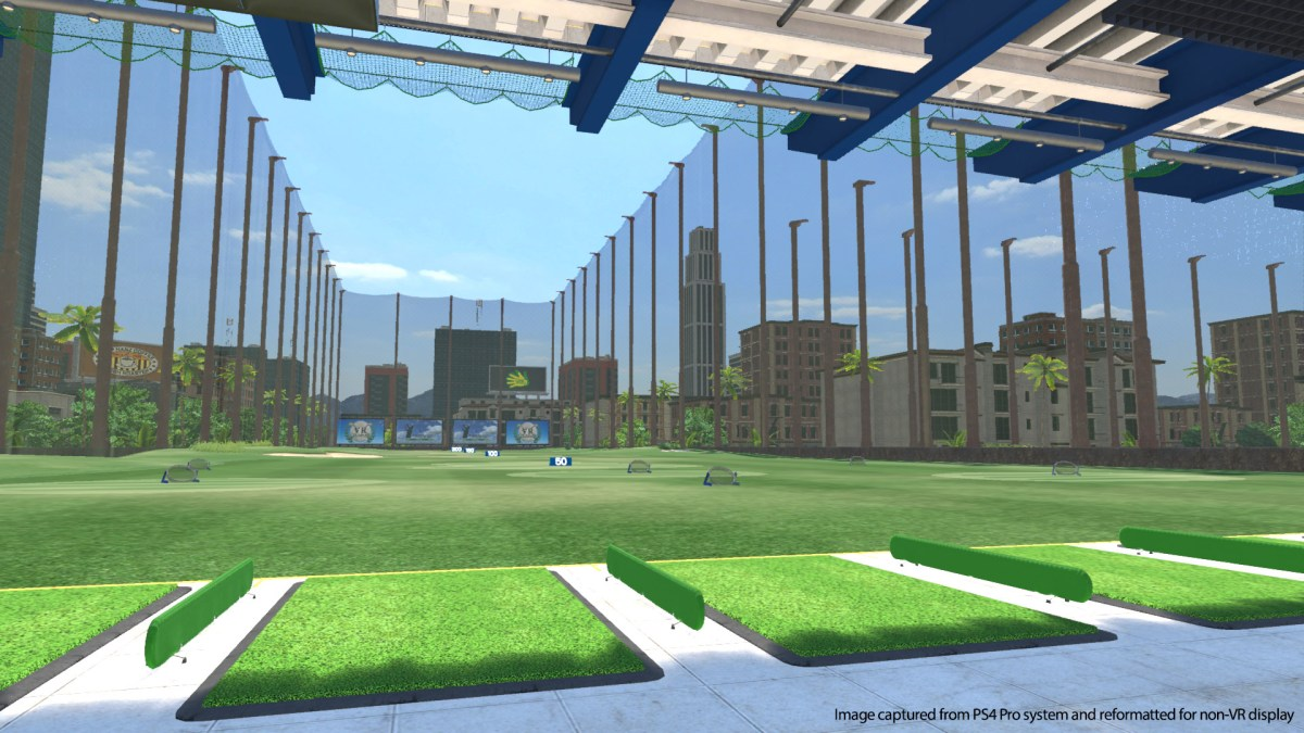 Todo el mundo de golf VR revisión