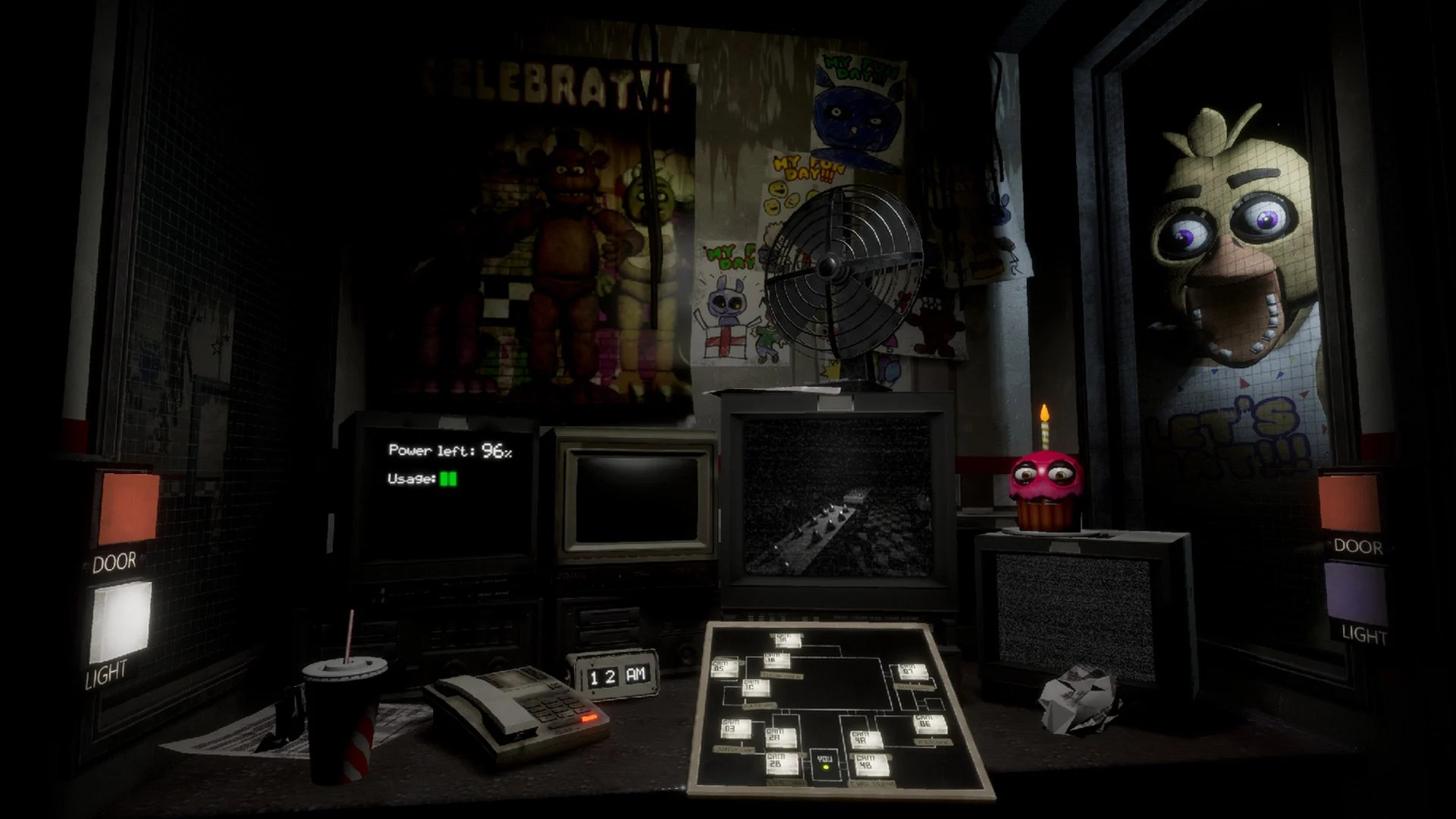 review five nights at