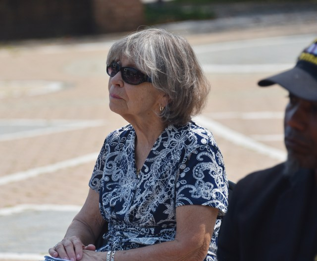 Mrs. JoAnn Coons, widow of Del State Aviation Program founder Dr. Daniel Coons, also attended the event.
