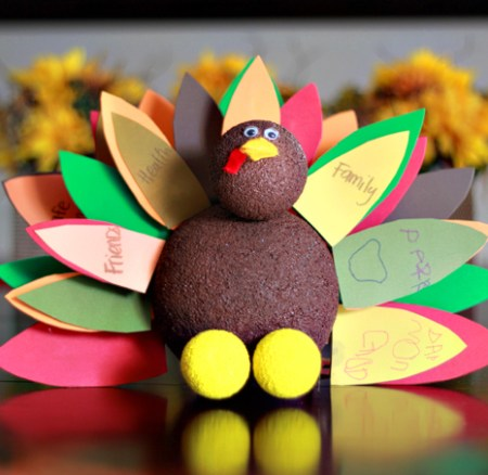 Thanksgiving Daily Gratitude Craft
