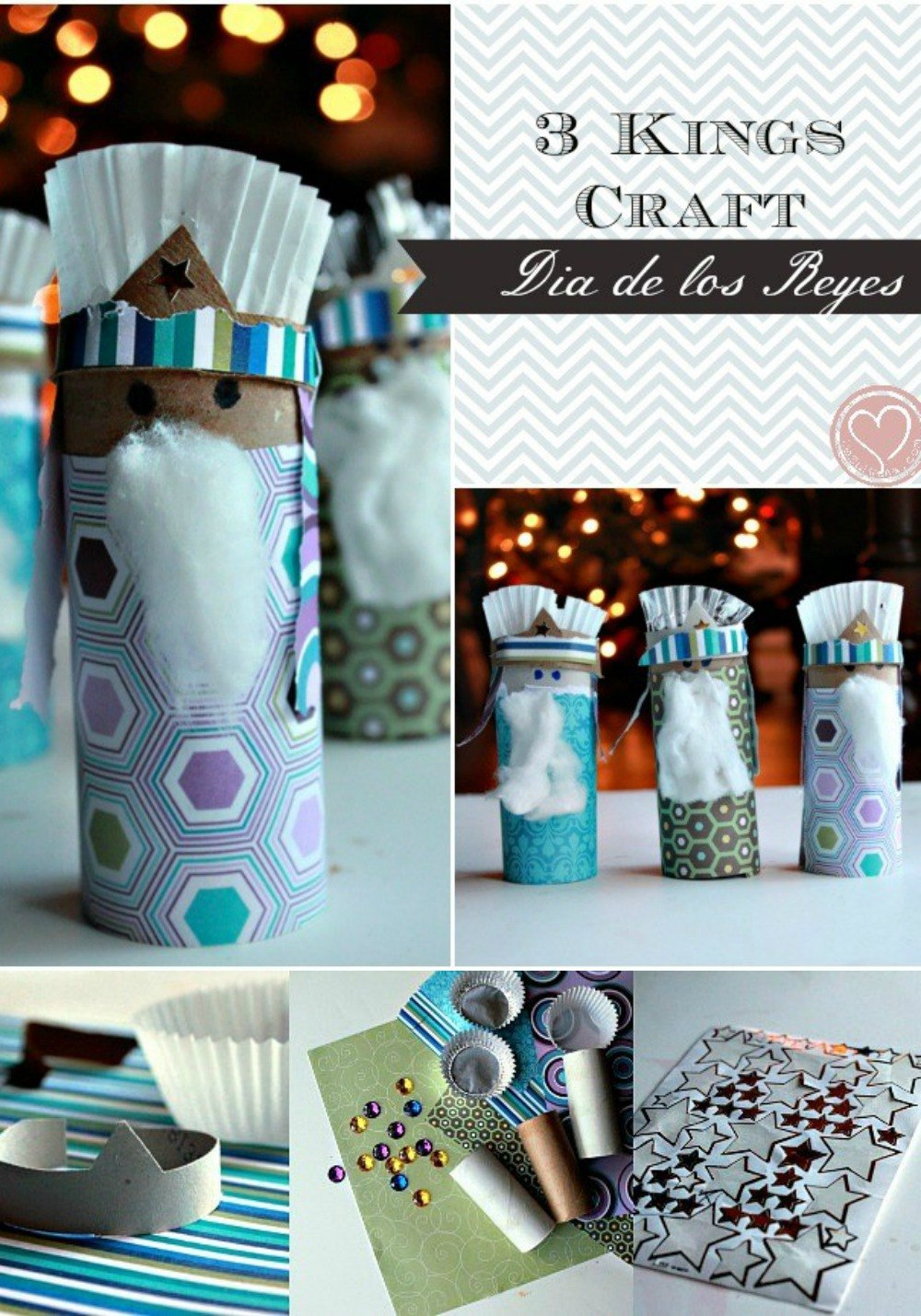 three kings craft hispanic holiday