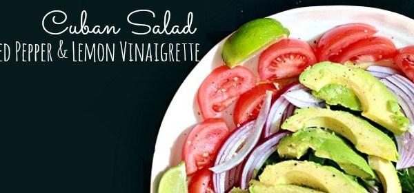cuban salad, cuban recipe, cuban salad dressing, food culture, cuban food
